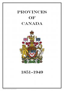 Provinces of  Canada 1851-1949 PDF(DIGITAL) STAMP ALBUM PAGES