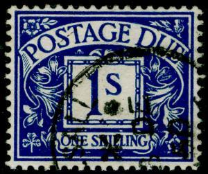 SGD33, 1s deep blue, FINE USED, CDS. WMK GVIR
