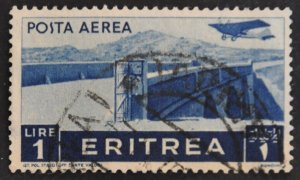 DYNAMITE Stamps: Eritrea Scott #C11 – USED