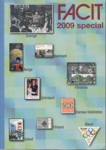 Facit 2009 Scandinavia Specialized catalog. Perfect bound paperback