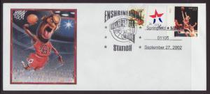 Basketball Hall of Fame,Springfield,MA 2002 # 10 Cover