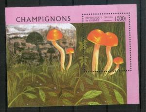 Guinea MNH S/S 1353 Mushroom Fungi Tree 1996