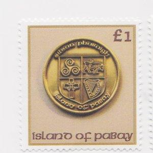 PABAY, British Local - 2013 - Pabay Coins - Perf MNH 2v Stamps