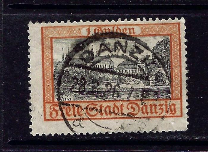 Danzig 194 Used 1924 issue