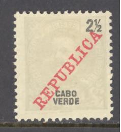 Cape Verde Sc # 85 mint hinged (RS)