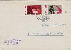DDR56) East Germany 1967 50th Anniversary Of The October Revolution