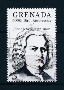 [95056] Grenada 1985 Music Bach From Set MNH