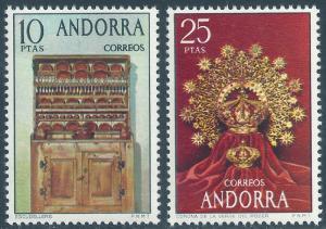 ANDORRA-SPANISH SCOTT 81-82