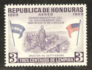 Honduras  Scott C291 MNH** Lincoln airmail stamp