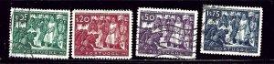 Portugal 683-86 Used (#684 Unused) 1947 partial set