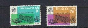 PN93) Pitcairn Islands 1966 New Headquarters Building MUH