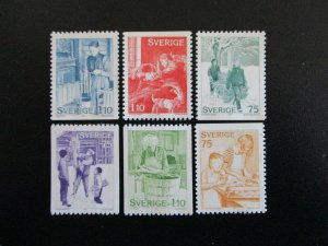 Sweden #1225-30 Mint Never Hinged (G7E1) I Combine Shipping!