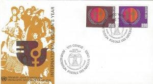 United Nations Geneva 48-9  FDC   Geneva Cachet