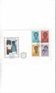 Grenadines of St. Vincent FDC International Year of the Child1979Official Cachet