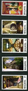 MOLDOVA 432-6 MNH SCV $5.00 BIN $2.75 WINE