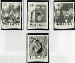 GIBRALTAR 881-884 MNH SCV $8.00 BIN $4.00 GIBRALTAR CHONICLE