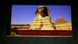 U.N. 2005, GENEVA #446, WORLD HERITAGE, EGYPT, MNH, PRESTIGE BOOKLET, LQQK