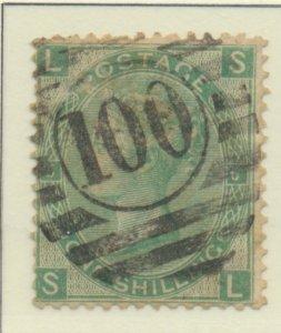 Great Britain Stamp Scott #54 Plate #5, Used - Free U.S. Shipping, Free World...
