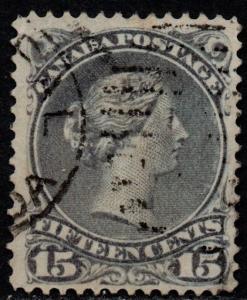 $Canada Sc#30 used, F-VF+, Cv. $65