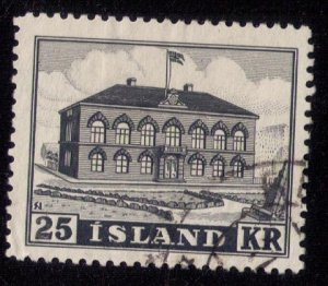 ICELAND Scott #273 USED 25kr Very Fine