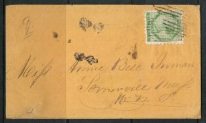 Prince Edward Island #3 Very Fine Used On Cover **With Certificate**