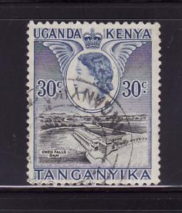 Kenya, Uganda, Tanzania 108 Queen Elizabeth II, Dam (B)