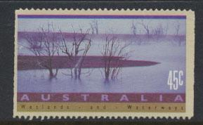 Australia SG 1320  Used perf 14½ - wetland & waterways