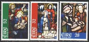 Ireland. 1997. 1030-32. Christmas, stained glass. MNH.