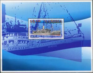 "Namibia. 1999. Passenger Liner ""Windhuk (MNH OG) Souvenir Sheet"