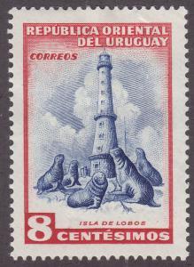 Uruguay 611 Southern Sea Lions 1954