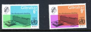 Gibraltar 180-181 MNH 1966