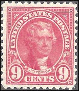 561 Mint,OG,HR... SCV $11.00