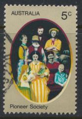Australia  Sc# 532  Pioneer Life  Family Used