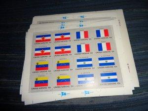 UNITED NATIONS FULL SHEET COLLECTION, MNH, OG