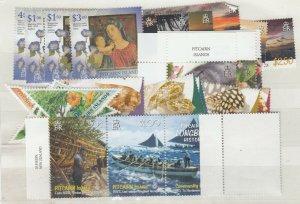 Pitcairn Islands QEII Sets x 6 MNH JK5626