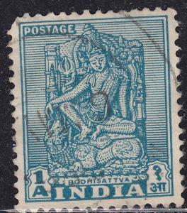 India 231 USED 1950 Bodhisattva