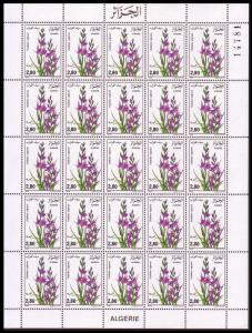 Algeria Flowers 1 sheet SG#944 MI#927 CV£50+