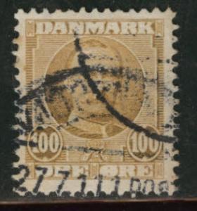 DENMARK  Scott 78 used 1907 stamp CV$5