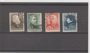 Netherlands  Scott#  B86-9  Used  (1936 Social Projects)