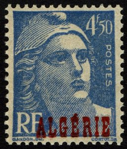 Algeria #204  MNH - 4.50Fr Marianne Overprinted ALGERIE (1947)