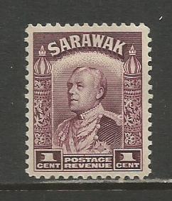 Sarawak   #109  MHR  (1934)  c.v. $1.50