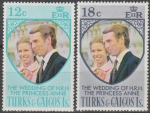 Turks & Caicos #286-6  MNH VF (ST2440)
