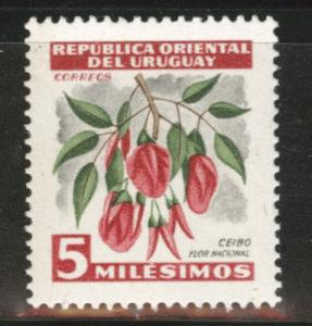 Uruguay Scott 605 MNH** stamp similar centering