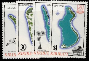 KIRIBATI QEII SG270-273, complete set, NH MINT.