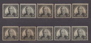 **US, SC# 623 MNH VF/XF Dealers Lot of 10 Original Gum Stamps, CV $200.00