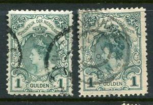 Netherlands #83 & 83a used