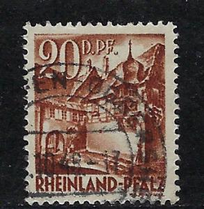 Germany - under French occupation Scott # 6N23, used