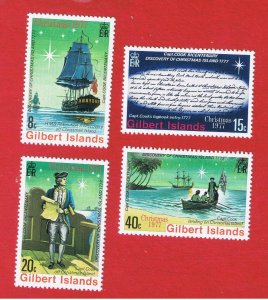 Gilbert Islands #300-303  MNH OG  Cook  Free S/H