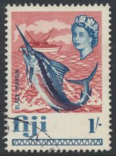 Fiji  SG 379  SC# 248 Used Black Marlin    see scan