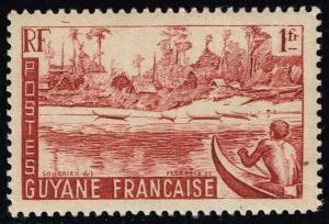 French Guiana #196 Maroni River Bank; MNH (0.85)